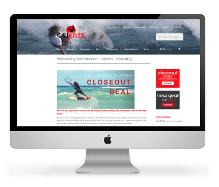 online shop hawaii web design