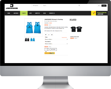 online shop maui web design