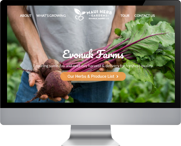 farm maui web design